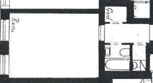 Lägenhetens planlösning