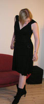 Bild på klänningen