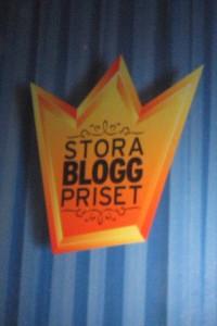 Bilder från Stora Bloggpriset!
