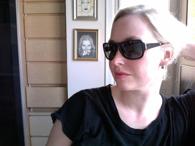 20100330: Nya solglasögon