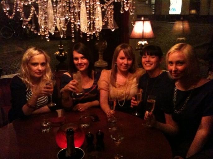 After Work på Le Rouge Bar