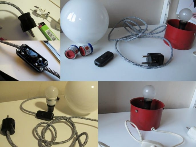 Projekt: renovera lampa del 1