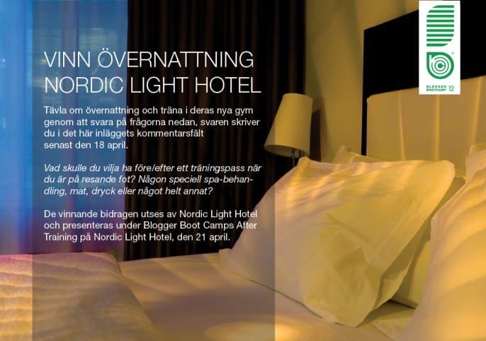 Vinn övernattning på Nordic Light Hotel i Stockholm och träna i deras nya gym