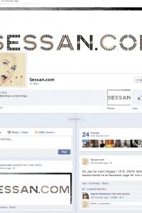 Wow, sessan.com finns på facebook…