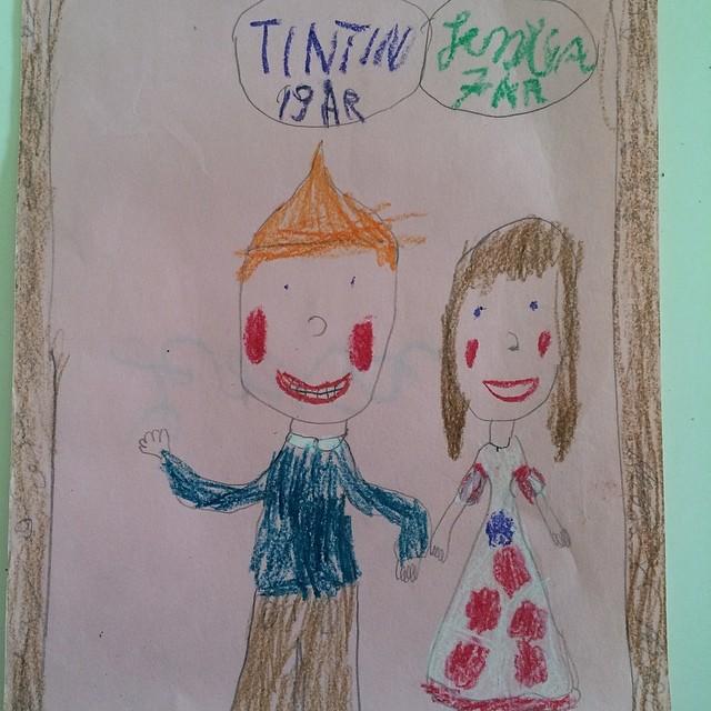 Jag gillade #tintin som liten…