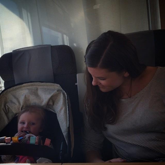 #adabebisen och moster @malingustavsson på väg till Västergötland och släktträff.