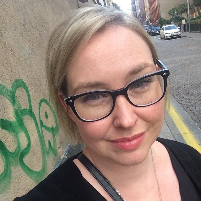 Nyklippt och nya glasögon. #selfie
