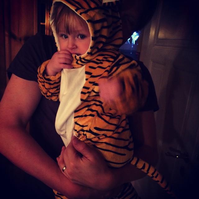 Vår lilla tiger! #adabebisen