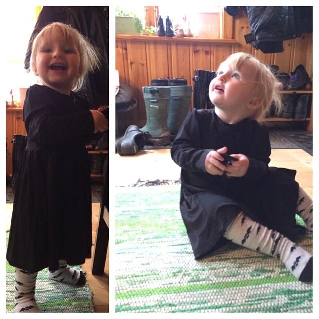 #gothbabyn #adabebisen Nu passar klänningen från #proud @ullemon! Tack :)