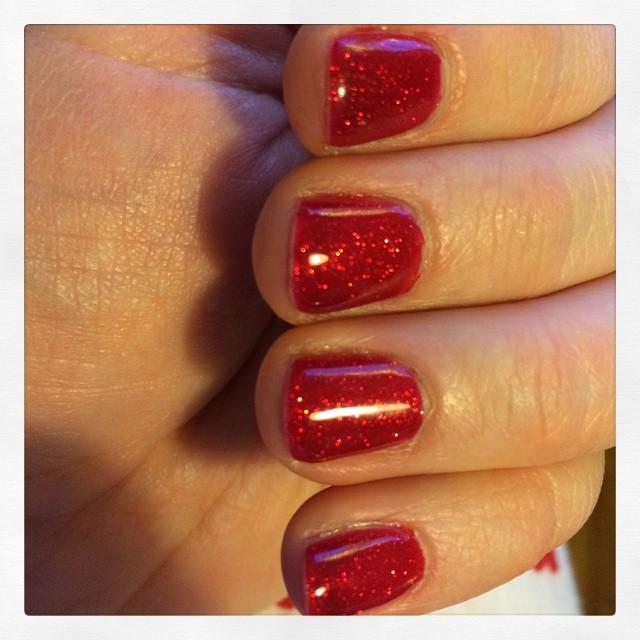 Lyckades måla naglarna igår för första gången på sjukt länge. #shellac