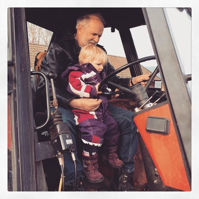 Traktorpremiär!