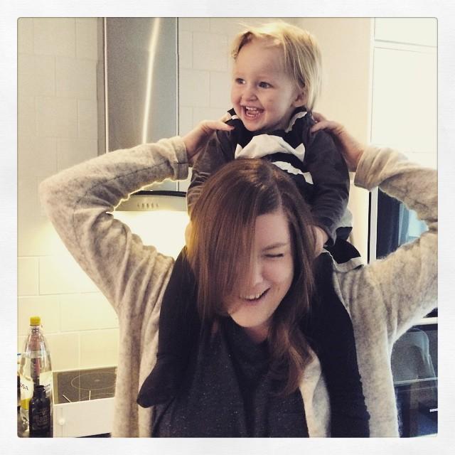 Ada och moster Malin. @malingustavsson