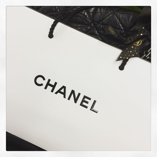 Lite Chanelshopping efter jobbet. #cccream #chanel