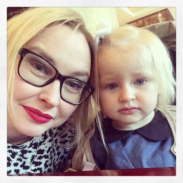 Firar min andra morsdag. Vilket privilegium få vara mamma till Ada.