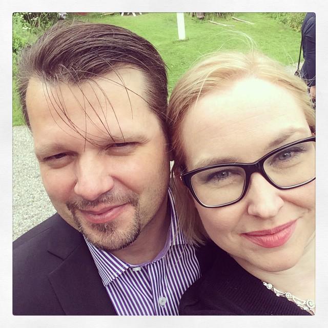 Jag och maken ❤️