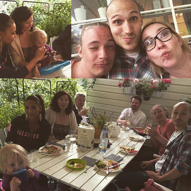 Grillmiddag med The Thorells igår :)